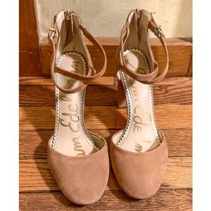 Sam Edelman Shoes - Sam Endelman Simmons Suede Ankle Strap Sandals